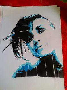 tng stencil art street