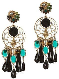 Mercedes Salazar Fiesta Chandelier Earrings