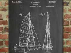Patent Diagrams Converted into Decorative Posters