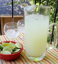 This sugar-free margarita is refreshingly delicious and saves you hundreds of calories. A Skinny Margarita recipe you'll love! Pitcher Margarita Recipe, Pitcher Of Margaritas, Margarita Recipes, Large Batch Margarita Recipe, Sugar Free Margarita Recipe, Sugar Free Simple Syrup Recipe, Classic Margarita Recipe, Frozen Margaritas, Party Drinks
