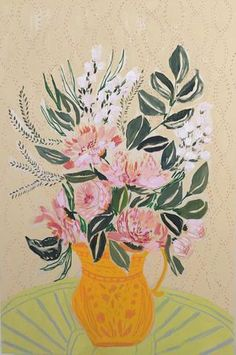 FLOWERS FOR SASA - 24X36