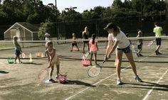 Summer Tennis Camp on the quarter court!