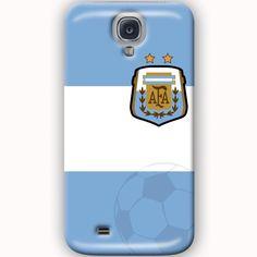 Fundas samsung galaxy s4 seleccion de argentina campeon mundial color azul celeste y blanco con escudo de la afa http://www.upaje.com/producto/fundas-samsung-galaxy-s4-seleccion-argentina-mundial-brasil-carcasas/  #fundas #carcasas #casecover #futbol #samsung #argentina #mundial