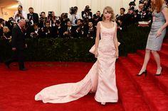 2014 Met Gala Top 10: Taylor Swift in Oscar de la Renta