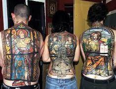 40 Joan Of Arc Tattoo-Designs für Männer – Saint Ink-Ideen - Mann Stil Insane Tattoos, Weird Tattoos, Great Tattoos, Trendy Tattoos, Tatoos, Awesome Tattoos, Stained Glass Tattoo, Tattoo Magazine, Inked Magazine