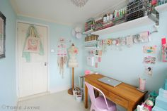 https://flic.kr/p/e9rbX4 | My Craft Room | Blogged at Torie…