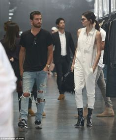 Celebrity 'relatives': Scott and Kendall both found fame on the family reality series Keeping Up With The Kardashians
