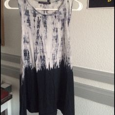 Dip Dye Muscle Tank Worn once, looks like brand new. Size small. Great with leggings! Price is firm. No trades. Bundle and save! :) Rock Rose Classic Tops Muscle Tees