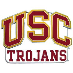 """Checkout our #LicensedGear products FREE SHIPPING + 10% OFF Coupon Code """"Official"""" USC Trojans Hitch Cover Class III Wire Plugs - Officially licensed College product Class III hitch cover for 2 inch hitch receivers  Fully cast metal hitch with enameled details Hitch plate is a full 1/8 inch thick making it tougher than your average hitch cover USC Trojans logo with enameled colors  - Price: $37.00. Buy now at…"""