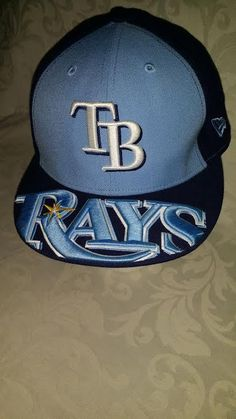 Tampa Bay Devil Rays Hat New Era 59Fifty (Size 7 1/2) Official MLB COOL DESIGN…