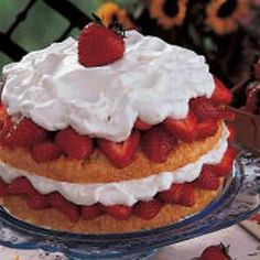Grandma's Strawberry Shortcake Recipe | Holiday Cottage