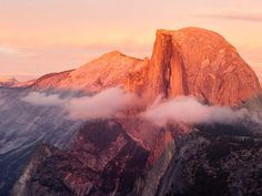 Yosemite National Park's 8,842-foot-high Half Dome is a mysterious natural wonder. Some believe the exposed face of its other 'half' is stained with the profile of an Ahwahnee Indian.