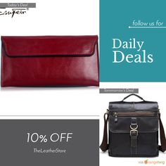 Today Only! 10% OFF this item.  Follow us on Pinterest to be the first to see our exciting Daily Deals. Today's Product: Genuine 100% Leather Women's Clutch Buy now: https://small.bz/AAaBB8i #musthave #loveit #instacool #shop #shopping #onlineshopping #instashop #instagood #instafollow #photooftheday #picoftheday #love #OTstores #smallbiz #sale #dailydeal #dealoftheday #todayonly #instadaily