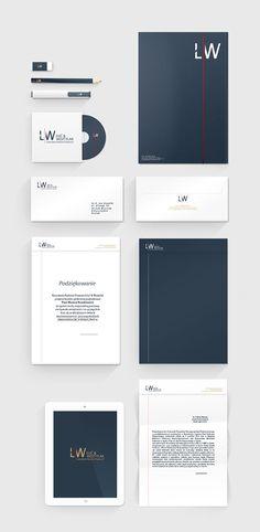 Łuć & Wojtylak / law office on Behance – My Pin's Company Letterhead Template, Letterhead Design, Stationery Design, Branding Design, Law Office Design, Law Office Decor, Office Logo, Corporate Law, Corporate Design