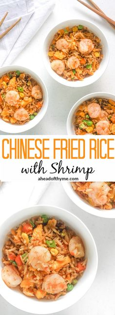 Chinese Fried Rice with Shrimp: Make your own Chinese fried rice with shrimp in…
