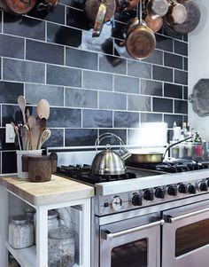 Tyler Florence kitchen...via House Beautiful