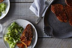 Miso, Ginger, and Scallion-Crusted Sweet Potatoes, a recipe on Food52