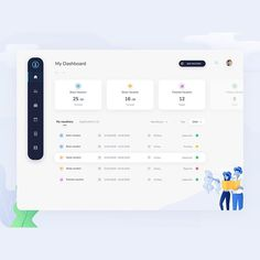 Similar UI elements are grouped to form visual blocks to present information. Similar UI elements are reused here. Dashboard Ui, Dashboard Design, Ui Ux Design, Social Media Dashboard, Application Ui Design, Layout Design, Web Layout, Financial Dashboard, Project Dashboard