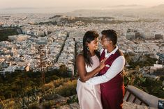 A Honeymoon Photoshoot in Athens, in some of our favourite places in the old region underneath Acropolis. This will make you dream of the Greek islands! Greece Honeymoon, Greece Wedding, Athens Greece, Beautiful Couple, Greek, Photoshoot, Island, Couple Photos, City