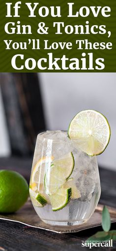 While the cocktail can be easily upgraded with a simple gin or tonic swap, its delightful qualities can also be found in other drinks. So the next time you crave something like a Gin and Tonic, get just that with one of these great drinks. Stir it up. Simple Gin Drinks, Gin Mixed Drinks, Cocktail Simple, Easy Gin Cocktails, Cocktails Made With Gin, Easy Mixed Drinks, Refreshing Cocktails, Summer Drinks, Cocktail Drinks