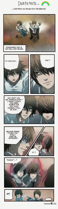 Death Note : As Planned by kuro-mai.deviantart.com on @deviantART  HAHAHAHAHAHAHAHA ^0^ Oh poor Light Yagami... We all knew it anyways :)