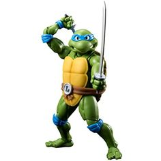 """Bandai Tamashii Nations S.H. Figuarts Leonardo """"Teenage Mutant Ninja Turtles"""" Action Figure -- Click on the image for additional details. (This is an affiliate link) #ActionFiguresStatues"""