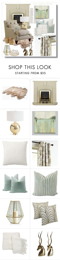 """""""Untitled #4009"""" by kellie-debrandt-mescher ❤ liked on Polyvore featuring interior, interiors, interior design, home, home decor, interior decorating, UGG Australia, Ballard Designs, Pottery Barn and Pier 1 Imports"""