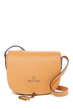 Maelle Leather Saddle Bag