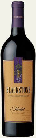 Blackstone Merlot - This is a pretty common wine these days, and great value for the price.