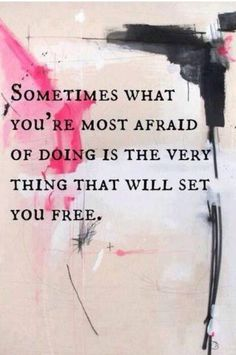 Set yourself free!