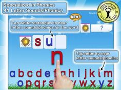 Montessori Crosswords - Spelling With Phonics-Enabled Alphabet [ages: 3+, iPad, iPhone, Android] by L'Escapadou - phonics and spelling practice. Original Appysmarts score: 87/100