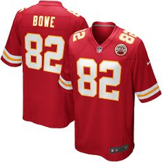 Jerseys NFL Wholesale - Men's Kansas City Chiefs #82 Brian Parker White Road NFL Nike ...