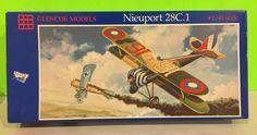 Glencoe Models Nieuport 28C 1 Model Kit Collectible Gift  #Airfix