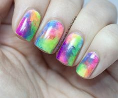 Rainbow nails for all colours everyday