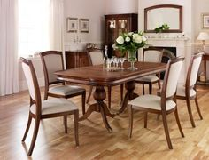 Hoopers Selection of dining furniture available in Tunbridge Wells Willis & Gambier Dining Table Montpellier, Dining Furniture, Dining Table, Traditional, House Styles, Inspiration, Tunbridge Wells, Home Decor, Chairs