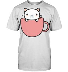 Cat in a coffee mug