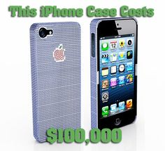 This iPhone case costs $100,000