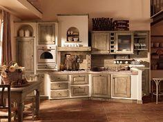 sandy, la cucina in stile shabby chic, crea un'atmosfera ... - Shabby Cucina