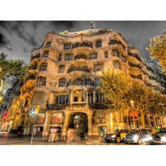 La Pedrera de Gaudí, Barcelone, Espagne