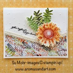Painted Harvest Cover-Up Thanksgiving Card - Aromas and Art