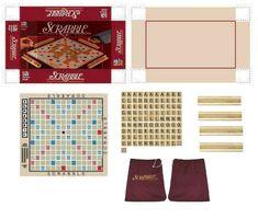 Miniature Printables - Scrabble Board Game.