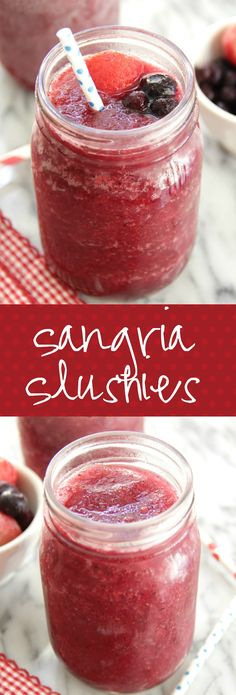 Apple-Plum Sangria by @Smith Bites | When the mountain is pink… it's ...