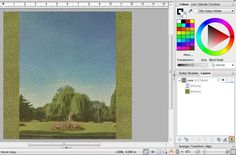 Blending Photos Into A Background In Serif Craft Artist - Simple Transparency Blending