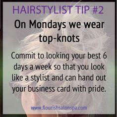 Hairstylist Tip #2