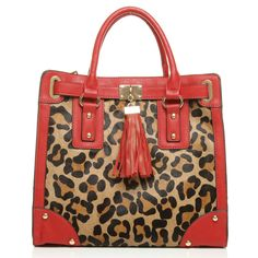 Moda In Pelle: Moda in Pelle Marlibag Leopard Fashion Bags @ http://thebags.boutique/details/4636 #animal #print #handbag