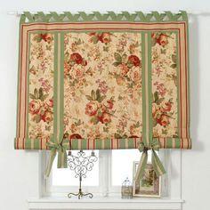 Шторы в стиле прованс на кухню Cool Curtains, Window Curtains, Home Fix, Window Dressings, City Art, House In The Woods, Roman Shades, Window Treatments, Sweet Home