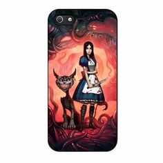 in Wonderland evil three iPhone 5/5s Case