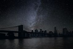 Darkened Cities project by Thierry Cohen envisions New York City as a city without light