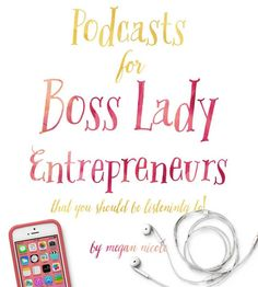Podcasts for Women Entrepreneurs Feeling alone sucks when you're trying to build a fledgling business as woman entrepreneur. Especially when…