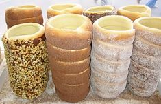 Kürtőskalács a.k.a. Chimney Cake, a delicious Hungarian pastry. These things are AMAZING!!!